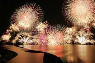 松江水郷祭湖上花火大会 FYI00206209