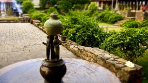 仏歯寺にある噴水 FYI00213032