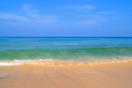 波と砂 FYI00222839