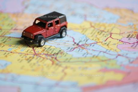 車と地図 FYI00222845