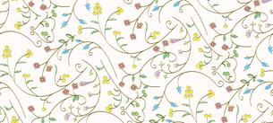 マルチカラーの花柄パターン FYI00227110
