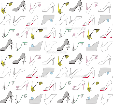 カラフルな靴のパターン FYI00227129
