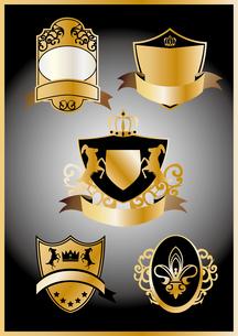 金の紋章セット FYI00227167