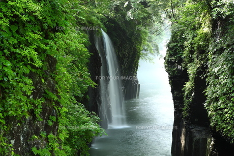 高千穂峡 真名井の滝 FYI00240996