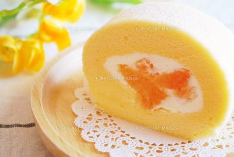 グレープフルーツのロールケーキ FYI00242275