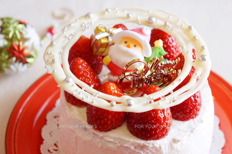 クリスマスの苺ショートケーキ FYI00242279