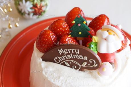 クリスマスの苺ショートケーキ FYI00242299