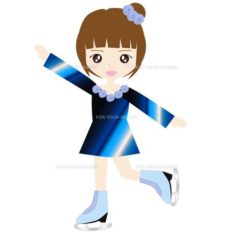 女子フィギュアスケート Fyi00249182 気軽に使える写真イラスト