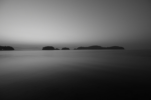 海と島々 モノクロ FYI00266022