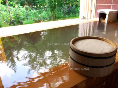 桧木のお風呂 FYI00269063
