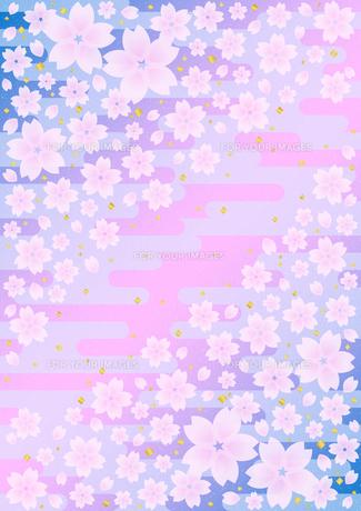 桜の和柄 FYI00282699