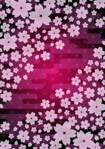 桜の和柄 FYI00282702
