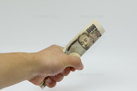 お金を掴む FYI00289302