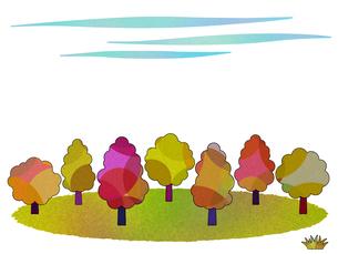 林のイラスト FYI00297723