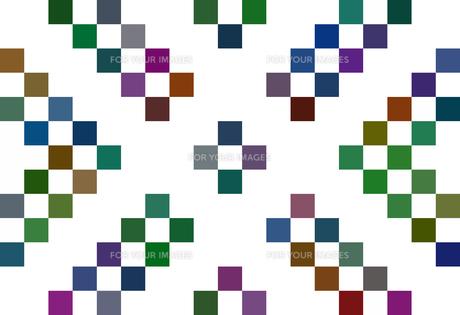 カラフルな斜め縞模様 FYI00297999