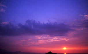 夕焼け(福岡・糸島) FYI00299774