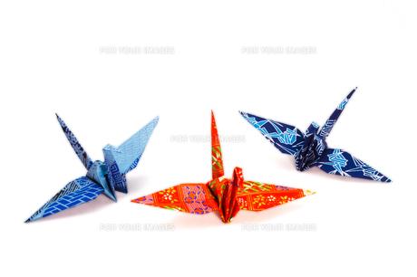 三羽の折鶴 FYI00303497