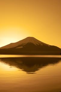 富士夕景(山中湖) FYI00306685