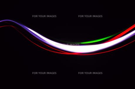 光線画 光り流れる FYI00311645