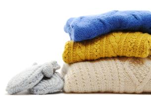 セーターと手袋 FYI00312798