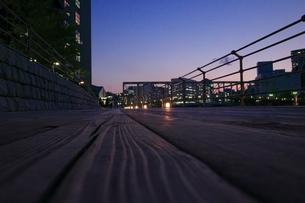 日暮れ時の遊歩道 FYI00317725