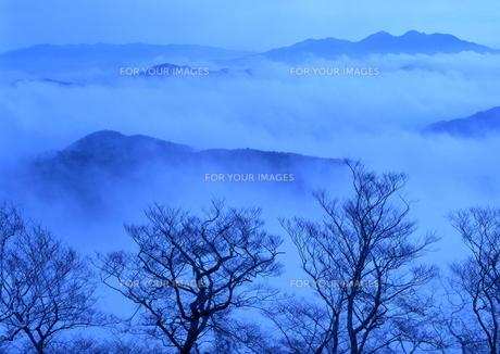 雲海の中の山並み FYI00319150