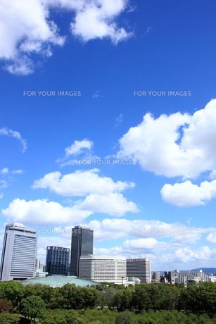 大阪ビジネスパークと大阪城ホール FYI00322079