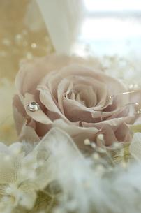 グレイッシュピンクのバラアレンジ FYI00322507