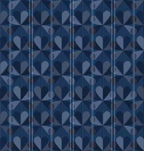 青色の幾何学模様 FYI00322863