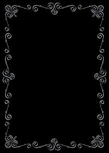 黒いバックに鉄のフレーム FYI00332267