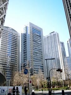 新宿の街並みと青空 FYI00332281