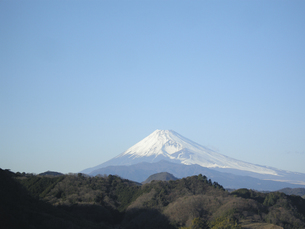 富士山と青空 FYI00332288