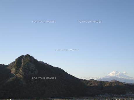 富士山と青空 FYI00332302