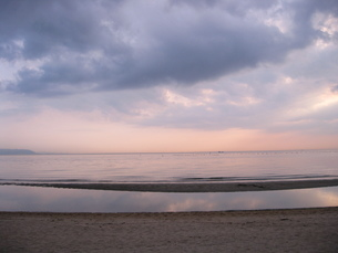 夕焼け・海 FYI00333646