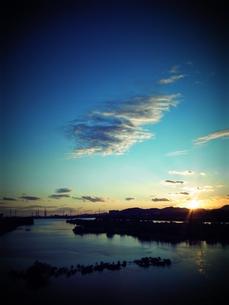 加古川の夕焼け FYI00333672