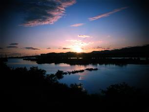 加古川の夕焼け FYI00333677