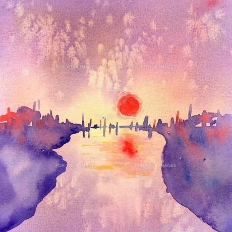 太陽と空と川 FYI00333699