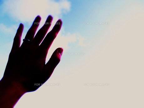空と手 FYI00335601