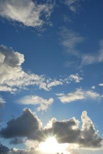 夕日と青空と雲 FYI00335821