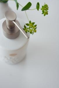 ソープディスペンサーと植物 FYI00364305