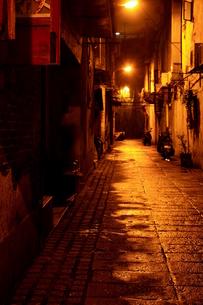 夜の裏通り-マカオ FYI00368107