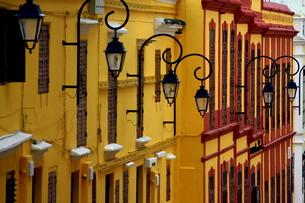ポルトガルの街並み-マカオ FYI00368118
