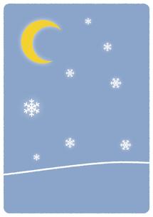 雪景色イラスト FYI00376667