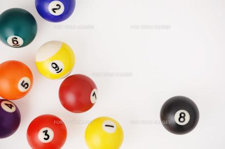ビリヤードの球 FYI00381297