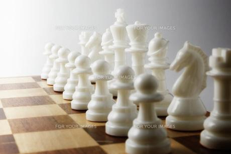 並べたチェスの駒 FYI00381350