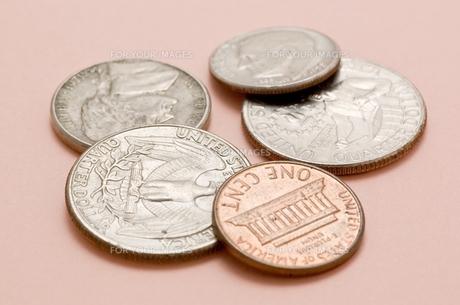 アメリカの硬貨のアップ FYI00382079