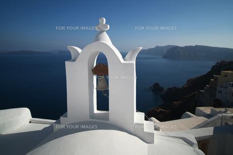 サントリーニ島の教会の鐘 FYI00382352