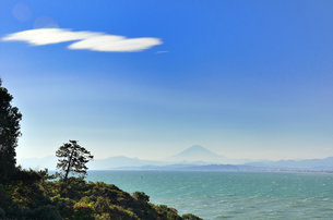 江ノ島から見える富士山 FYI00385125