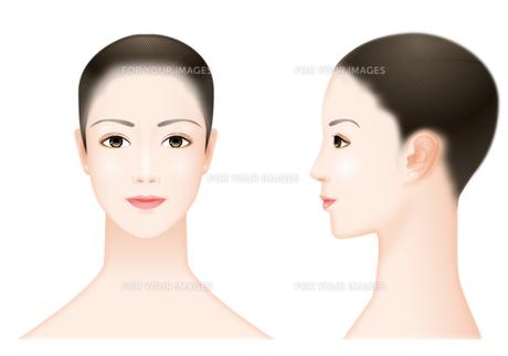 女性の顔 FYI00405950