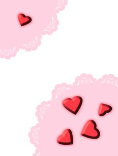ピンクのハート FYI00406955